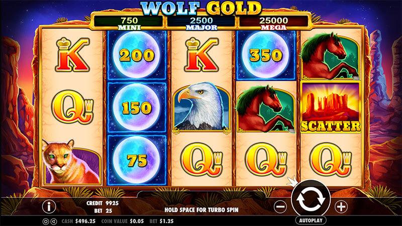 Wolf Goldのシンボル